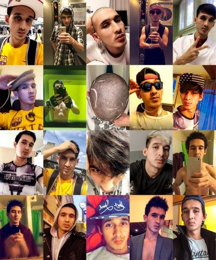 Ghorban Selfies